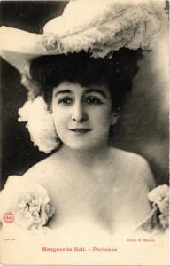 CPA Marguerite Nell THEATER STARS (792586)
