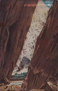 Colorado The Royal Gorge The Crevice