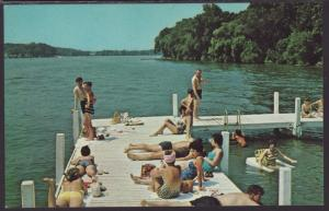 Beach Scene,Lake Lawn Lodge,Delavan,WI