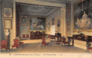 I.O.W. (Isle of Wight) Osborne House - The Dining Room