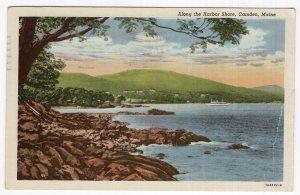 Camden, Maine, Along the Harbor Shore