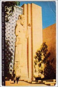 Statue of Pacifica, Golden Gate Inter Expo, San Francisco (crease)