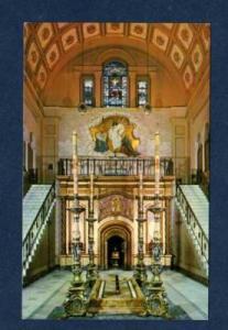 DC View Altar Franciscan Monastery WASHINGTON POSTCARD