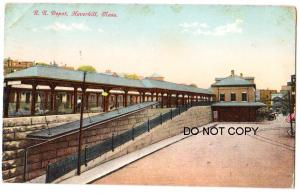 RR Depot, Haverhill Mass
