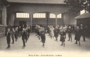 CPA Noicy le Sec - Ecole Ste-Croix - La Boxe  (124217)