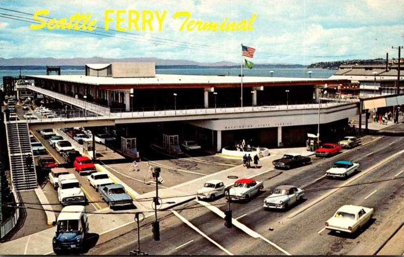 Washington Seattle Ferry Terminal