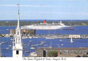 Queen Elizabeth 2 Cunard Line Ship 2002