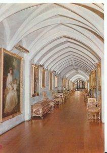 Sussex Postcard - Arundel Castle - The Picture Gallery - Ref TZ8473