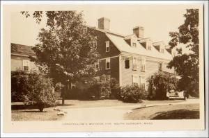 RPPC, Longfellow & Wayside Inn, South Sudbury MA