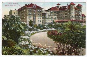 Santa Barbara, Cal, Hotel Potter