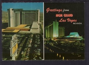 Greetings From MGM Grand Hotel,Las Vegas,NV BIN