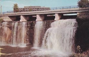 Rideau Falls, Ottawa, Ontario, Canada, 1940-1960s