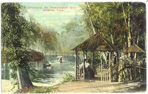 Presumpscot River, Riverton Park, Portland, Maine, ME, 1911 Divided Back
