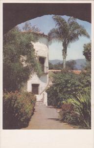 El Atalaya Tower & Stairway, Santa Barbara Biltmore Hotel, Montecito, Califor...
