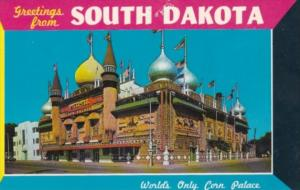 Greetings From South Dakota The World's Only Corn Palace