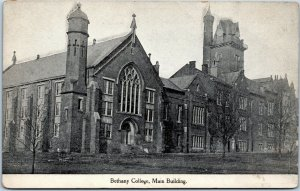 West Virginia - Bethany College Main Building postcard