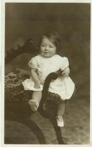 Infant, early 1900s unused real photo Postcard