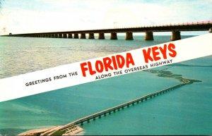 Florida Keys Greetings The Overseas Highway 1976