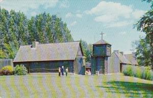 Fort Sainte Marie De Gannentaha Syracuse New York 1962