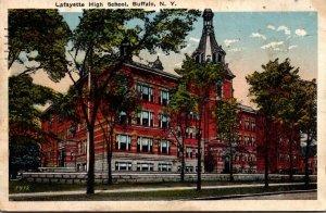 New York Buffalo Lafayette High School 1920