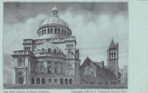 First Church Of Christ Scientist Boston Massachusetts