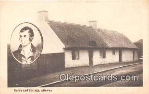 Alloway Postcard Post Card Burns & Cottage