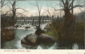 Farmer's Den, Attleboro, Mass. S. P. Clark & Co Vintage Postcard