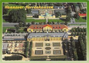 Orangerie Aerial view Terrace Hannover-Herrenhausen