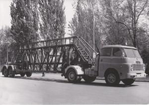 CSEPEL Automobile Truck Company , Czech Republic , 50-60s ; Truck Csepel 705