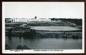 h2140 - AUSTRALIA Brisbane 1940s University. Real Photo Postcard