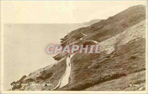 Modern Postcard Cliff Walk Langland Bay