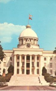 Alabama State Capitol, Montgomery, Alabama, unused Postcard