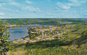 Canada Aerial View Peace River Alberta