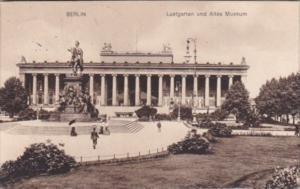 Germany Berlin Lustgarten mit Altes Museum 1914