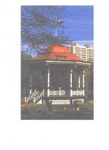 Band Stand, Public Gardens, Halifax, Nova Scotia,