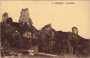 CPA CROZANT - Les Ruines (121791)
