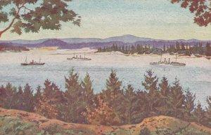 VICTORIA , B.C. , 1900-10s ; Esquimalt Harbour