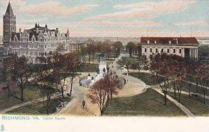 Virginia Richmond Capitol Square