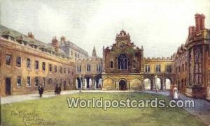 England, United Kingdon of Great Britain Cambridge Front Court, Peter Louge