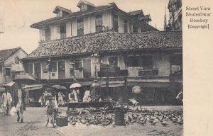 Bhuleshwar , BOMBAY , India , 1900-10 ; Street View