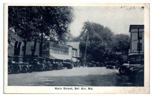 1931 Main Street, Bel Air, MD Postcard *4Z