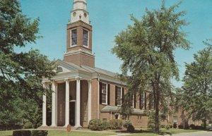 CORINTH, Mississippi, 1950-60s; First Baptist Church