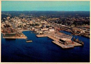 Florida Pensacola Beach Aerial View Downtown