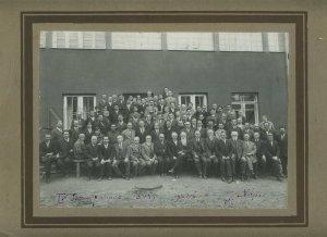 231182 UKRAINE Kharkiv 1930 year Congress of surgeons PHOTO