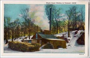 Maple Sugar Making in VT