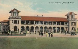 DETROIT, Michigan, PU-1912; Casino, Belle Isle