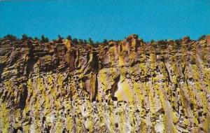 The North Cliff Wall At Bandelier National Monument Frijoles Canyon New Mexic...