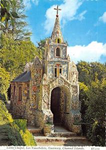 Channel Islands, Guernsey, Les Vauxbelets, Little Chapel