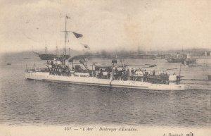 Warship : L'Arc , France , 1900-10s