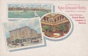 Canada Ontario Toronto King Edward Hotel Multi View sk3034